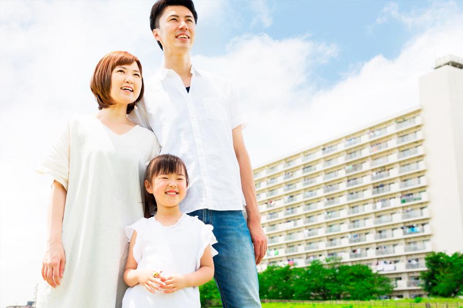 「子育て世帯が賃貸で団地を選ぶメリット、デメリット」に関連するイメージ