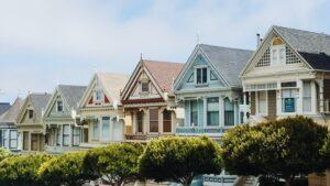 西洋風の家々